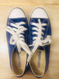 Blue Converse All Star size 23cm in Excellent Condition