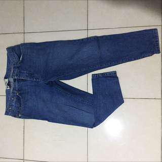 celana jeans skinny  merek top man