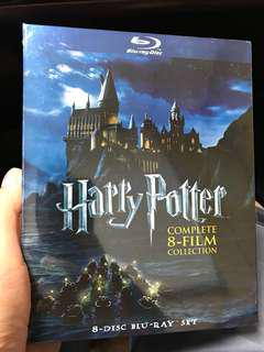 Harry Potter 哈利波特 bluray 藍光 全集 美版