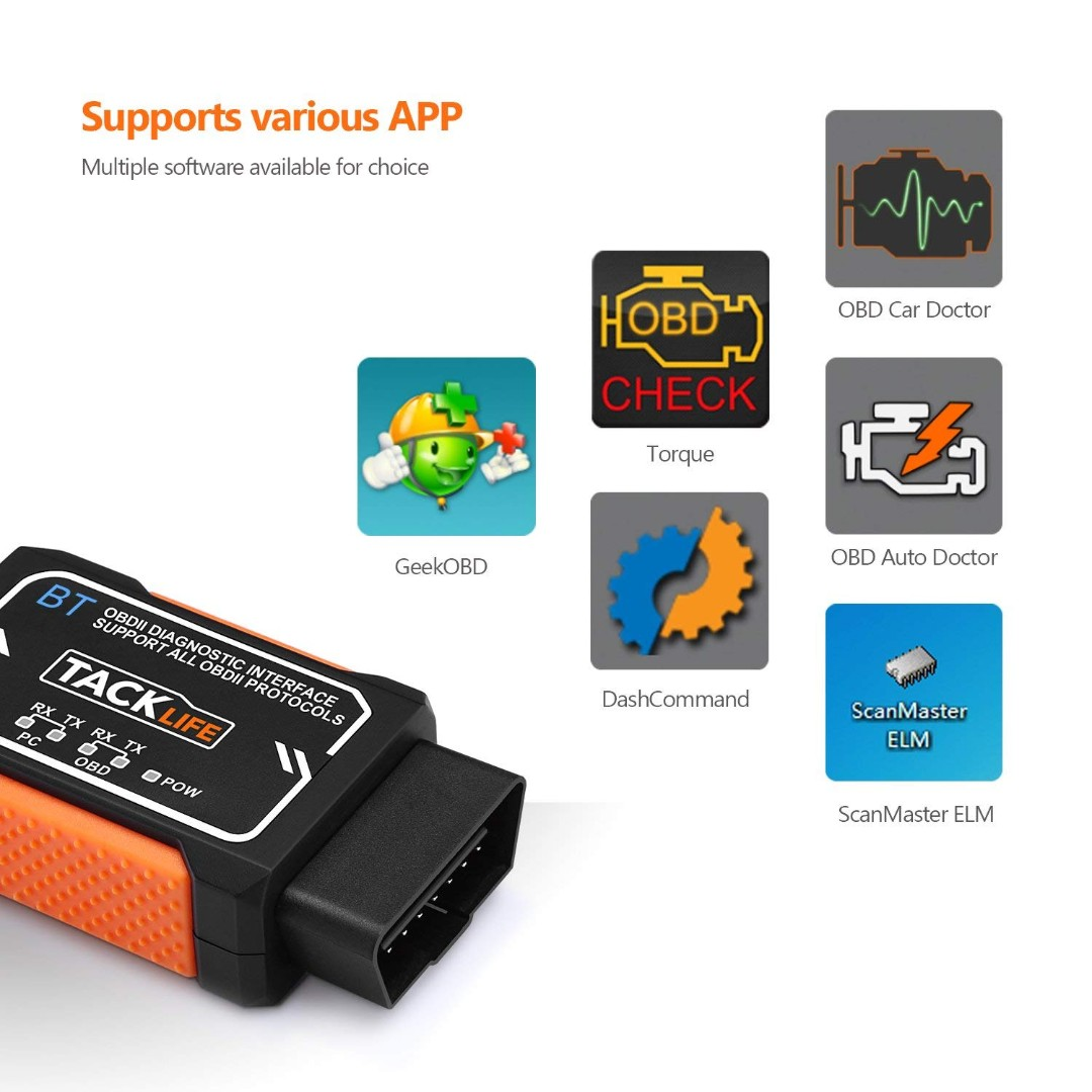 Bluetooth Obd2 Diagnostic Real Time Scanning Tool — ZwiftItaly