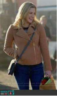 Betty Cooper Tan/Camel Jacket