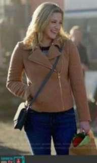 LF betty cooper tan/camel jacket