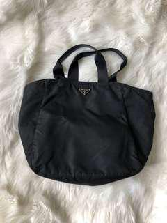 Authentic Prada nylon tote