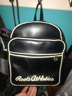 Vintage Authentic Roots Leather Backpack