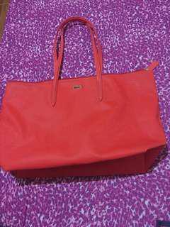 Preloved original lacoste bag