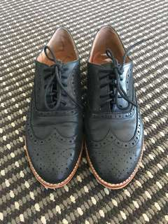 Wittner oxford leather shoes (Helsinki)