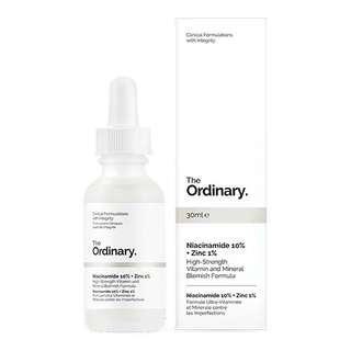 Ready stock The Ordinary Niacinamide 10% + Zinc 1%