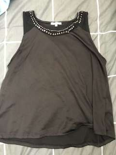 Back Singlet with Dimentes