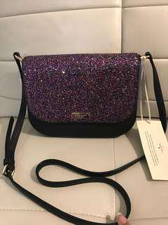 Brand New With Tags Authentic Kate Spade Leather Crossbody Bag