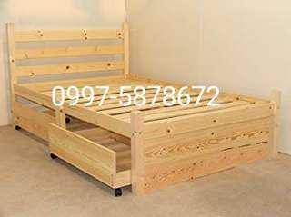 Bed frame with 2 drawer 30x75 (palochina)