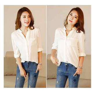 NEW!!! 50% + Discount !!!! White Shirt