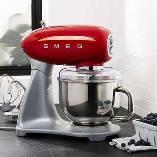 BNIB Smeg Standing Mixer in Red