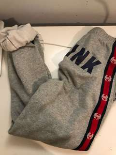 PINK Collegiate Oversized Sweatpants
