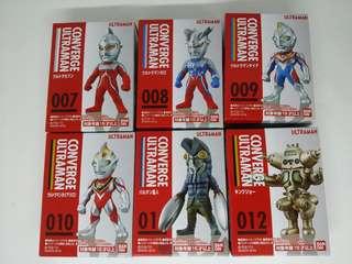 全新咸旦超人 Converge Ultraman 2 全6款
