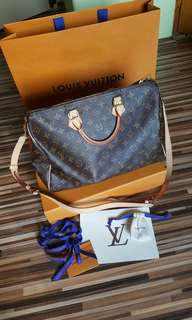 Louis Vuitton Speddy 35 Bandouliére