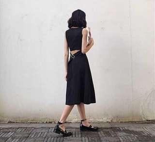 🚚 露背洋裝#100元以下女裝精選