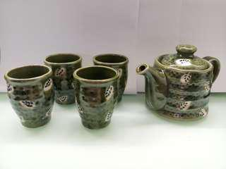 Traditional ceramicware set (5 pcs Tea set)