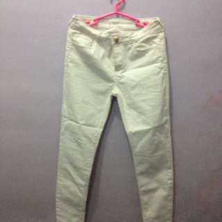 Mango cream pants