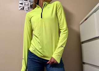 Nike running sweater