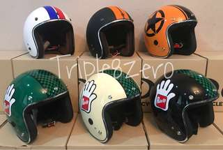 Helmet Retro Chrome