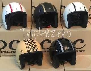Helmet retro style