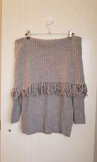 BNWOT Seed grey jumper XS