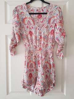 Billabong Playsuit Size 8