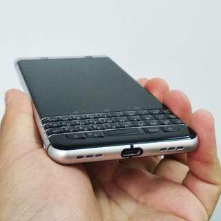 USED BlackBerry Keyone 3/32 Silver
