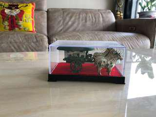 Qin dynasty chariot display