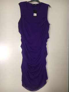 SARA SIZE 3X PURPLE DRESS BRAND NEW