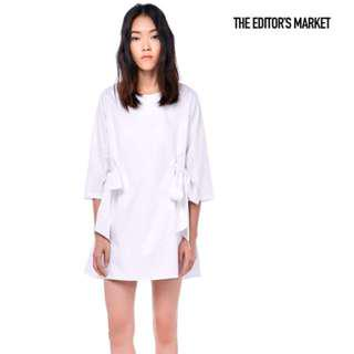 🚚 The Editor's Market Richela Ruched Shift Dress
