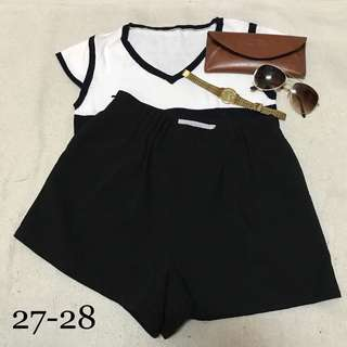 HW Cotton Shorts Black