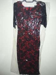 Dress brokat import