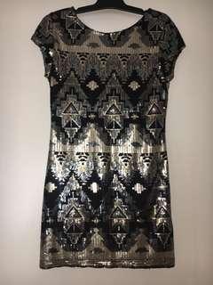 SASS size 14 dress