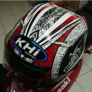 KHI K13 ST06 Helmet (Red Black)