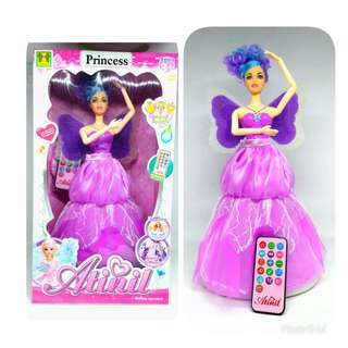 Boneka Barbie Atinil Princes Dancing & Singing With Remote 62-1