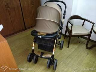 Baby1st stroller with free safety1st baby carrier