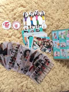 SALE!!!Twice KPOP storage box gift card from 300 to 100 pesos nalang!!!
