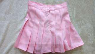 學院風 短裙