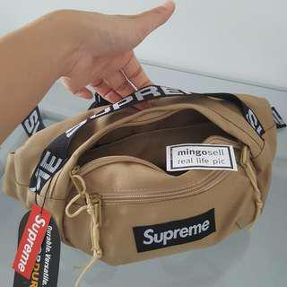 SUPREME Khaki Waist Pouch Waist Bag