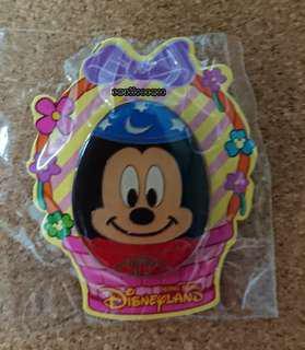 香港迪士尼會員限定復活節徽章 Mickey mouse