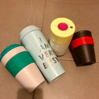 Keepcup FrankGreen Ban.do Smash coffee cup