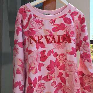 Sweater red flower Nevada
