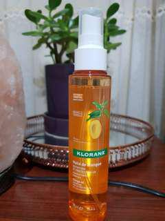 Klorane Mango Oil Hair spray- 125mls