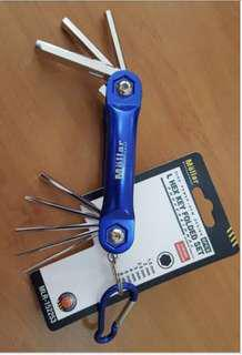 Mollar L Hex Key Folded Set