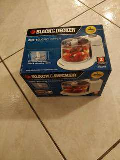 One-Touch Chopper by Black & Decker