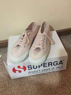Pink/ nude platform supergas 2730 REDUCED PRICE NEED GONE