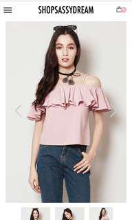 ShopSassyDream Pink Flutter