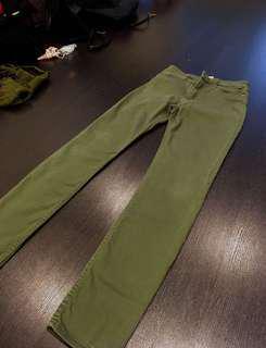 H&M UK Army Green Pants