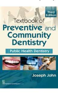 Textbook of Preventive and Community Dentistry – 3rd ed PDF